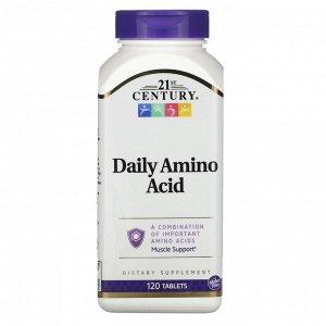 21st Century, Аминокислоты для ежедневного приема, 120 таблеток