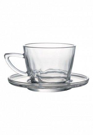 Чашка с блюдцем (2 пары в наборе)