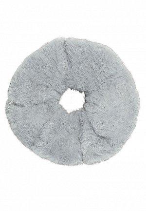 Резинка из искусственного меха, цвет серый