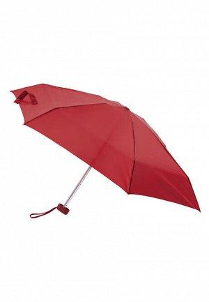 Мини-зонт бордовый