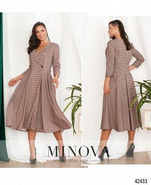 Платье №914-Бордо