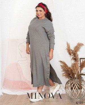Платье №765-1-серый