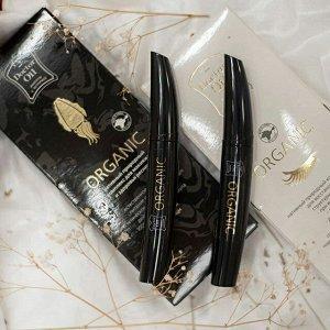 Тушь для ресниц ORGANIC - нативный природный комплекс для макияжа и здоровья ресниц. С чернилами каракатицы.