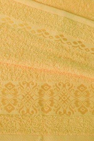 Полотенце махровое Ж1-3560,999,350 Арт.403 Желтый