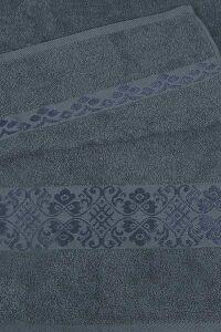 Полотенце махровое Ж1-3560,999,350 Арт.615 Т.серый