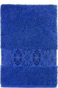 Полотенце махровое Ж1-3560,999,350 Арт.619 Т.Синий