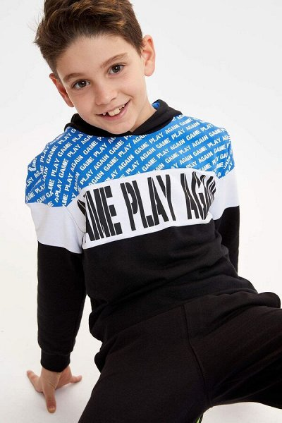 DEFACTO - 💃🏻толстовки, свитеры,джемпер, рубашки, футболки🕺🏻 — DEFACTO Мальчикам 3-14 лет — Для мальчиков