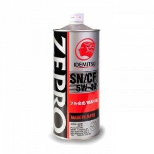Масло моторное IDEMITSU Zepro Euro Spec 5W40 SN/CF синтетика 1л