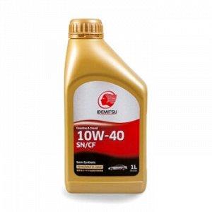 Масло моторное IDEMITSU 10W40 SN/CF полусинтетика 1л