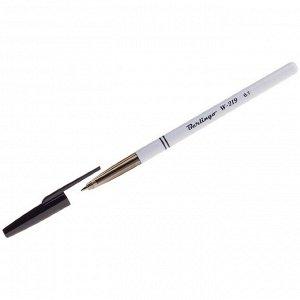 """Ручка шариковая Berlingo """"W-219"""" черная, 0,7мм"""