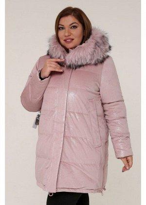 Женская зимняя куртка 20547 Розовый