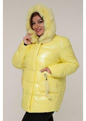 Женская зимняя куртка 20488 Желтый