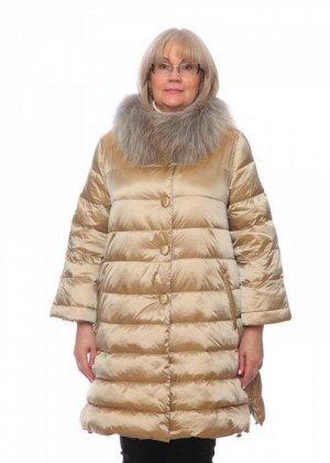 Женская куртка, арт. 15662-3 с мехом, холлофайбер