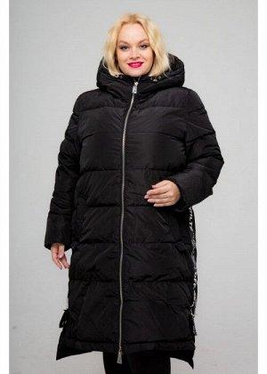 Женское зимнее пальто 18-094, Черный