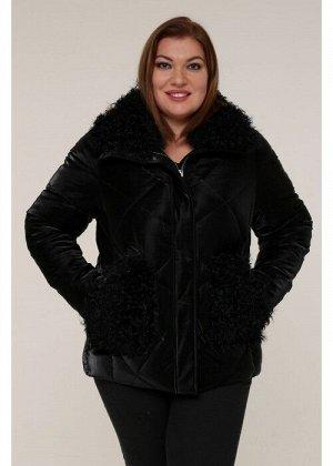 Женская зимняя куртка 20436 Черный