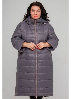 Женское зимнее пальто 19-226, Серый