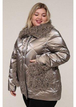Женская зимняя куртка 20436 Золотой