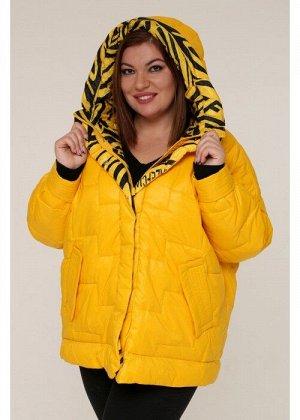 Женская зимняя куртка 20322 Желтый