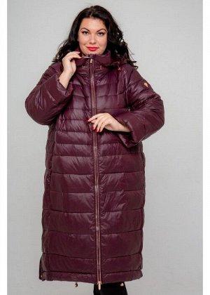 Женское зимнее пальто 19-226, Слива