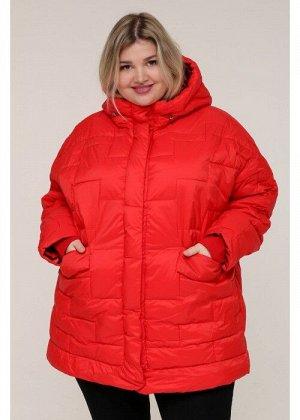 Женская зимняя куртка 20366 Красный