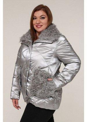 Женская зимняя куртка 20436 Серый