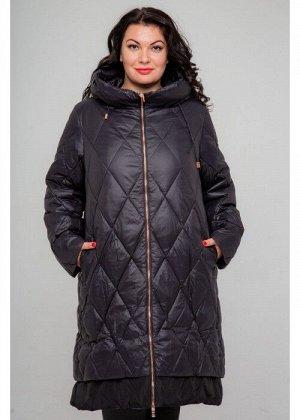 Женское зимнее пальто 19-215, Черный
