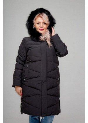 Женское зимнее пальто, 026-81, Черный