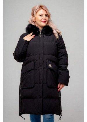 Женское зимнее пальто, 236-81 Стрекоза, Черный