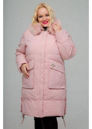 Женское зимнее пальто, 236-81 Стрекоза, Пудра
