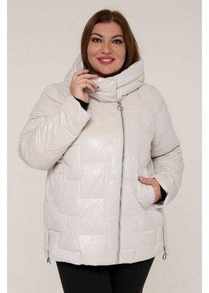 Женская зимняя куртка 20553 Жемчуг Бархат