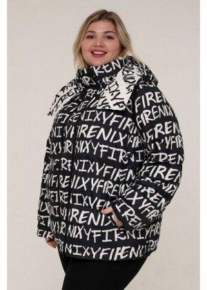 Женская зимняя куртка 203-03 Черный