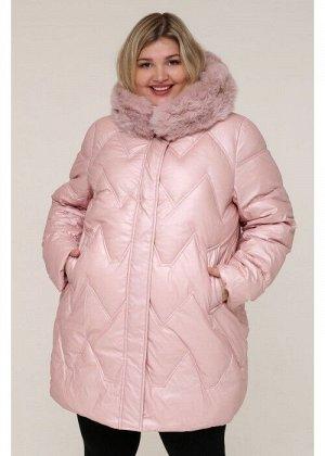 Женская зимняя куртка 20511 Розовый