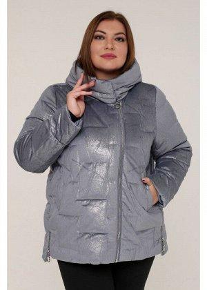 Женская зимняя куртка 20553 Серый Бархат