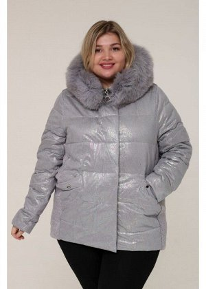 Женская зимняя куртка 20425 Серый
