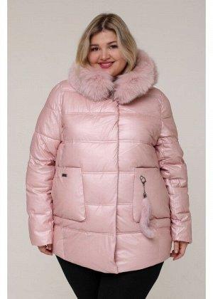 Женская зимняя куртка 20488 Розовый