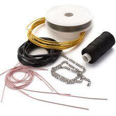 🖌Всё для изготовления бижутерии🖌 — Шнуры, цепочки, тросики и т.п. — Заготовки и основы