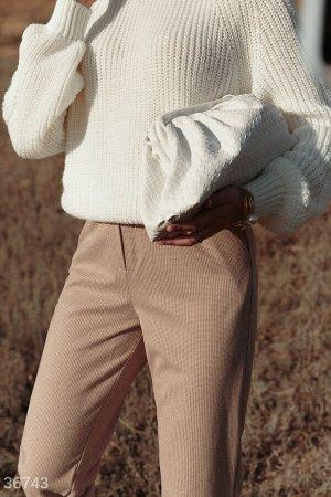 Свободные брюки с принтом