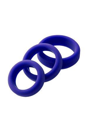 Эрекционное кольцо на пенис TOYFA A-Toys, Силикон, Фиолетовый, ?4,5/3,8/3,2 см