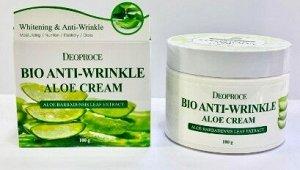 Антивозрастной био-крем с экстрактом алоэ BIO ANTI-WRINKLE ALOE CREAM