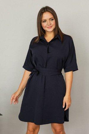 Платье 419, темно-синий
