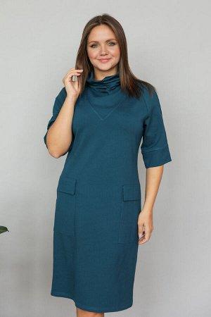 Платье 310/1 морская волна