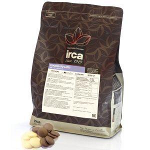 Шоколад молочный IRCA 30/32 вес 100 гр.