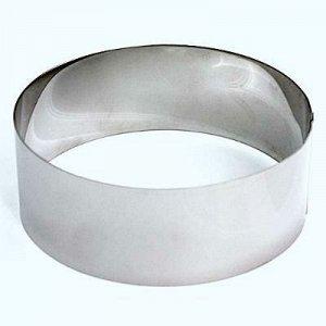 Формы для выпечки нержавеющая сталь  Кольцо (высота 10 см, ? 26 см)