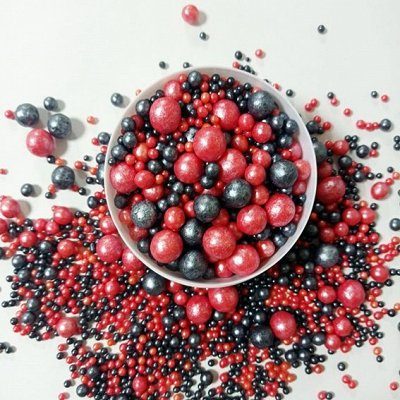 Съедобная печать для выпечки  — Шарики-драже в шоколадной глазури — Все для выпечки