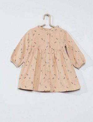 Бархатное платье éco-conception