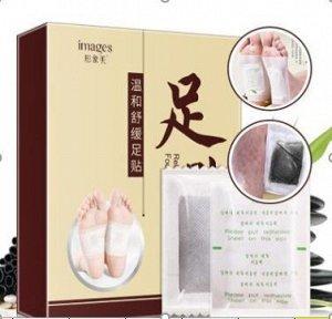 Пластыри-детокс от токсинов, Images Foot Patch, 10 шт.