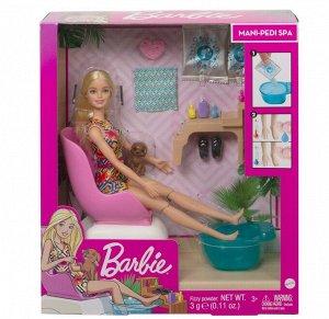 Игровой набор Mattel Barbie набор для маникюра/педикюра19