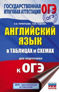 Гудкова Л.М., Терентьева О.В. ОГЭ Английский язык в таблицах и схемах (АСТ)