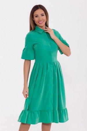 Платье 821 Яблоко/Зеленый