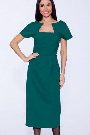 Платье квадрат  Яблоко/Зеленый